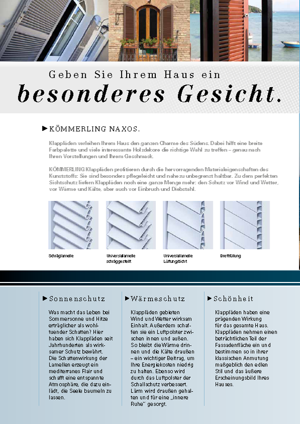 CATALOG IN GERMANA